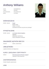cv anthony williams