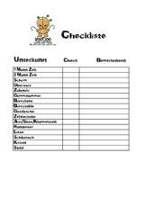 checkliste pdf