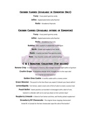 c j flavor list