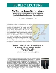 russian japanese relations bpl lecture flyer