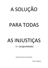 a solu o para todas as injusti as v5