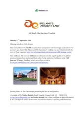 ireland s ancient east itinerary september 12 14 2016 1