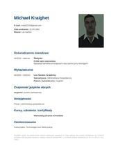 PDF Document cv michael kraighet