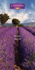 lavanda menu map web