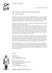 comunicato stampa 001 manicomix