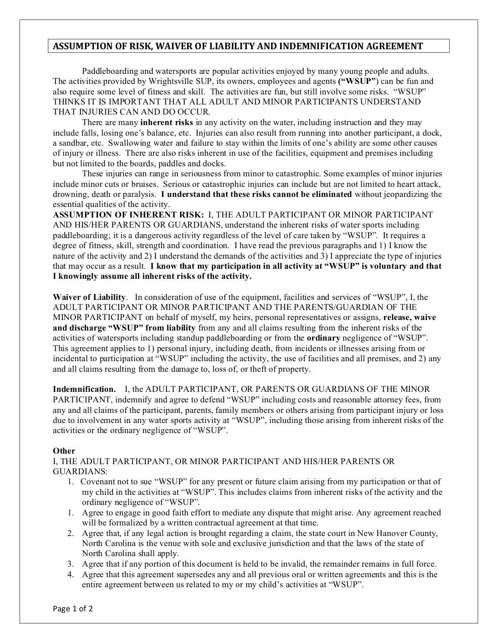 Document preview WSUP_Waiver.pdf - page 1/2