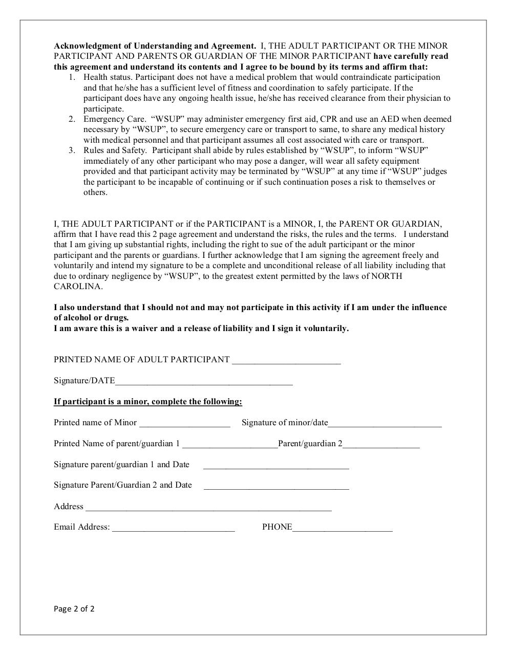 Document preview WSUP_Waiver.pdf - page 2/2