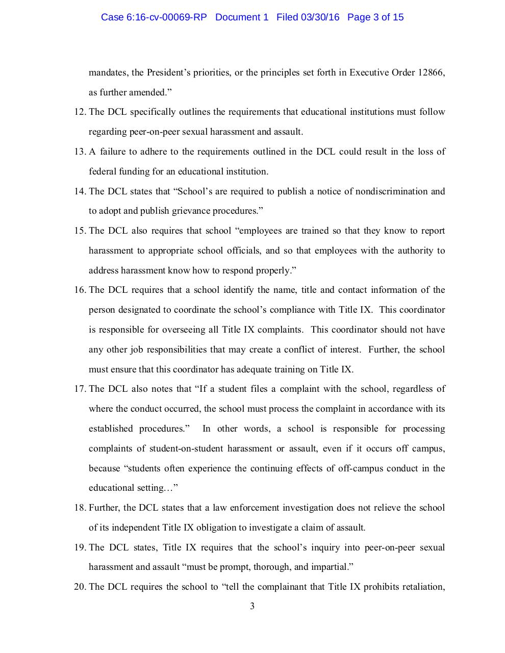 Baylor Lawsuit.pdf - page 3/16
