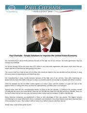 4 paul chehade solutions to improve the us economy