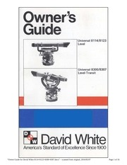 david white lt 8300 manual