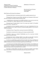 PDF Document demission