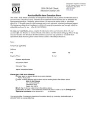 PDF Document donation form