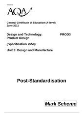 PDF Document aqa prod3 markscheme 2011