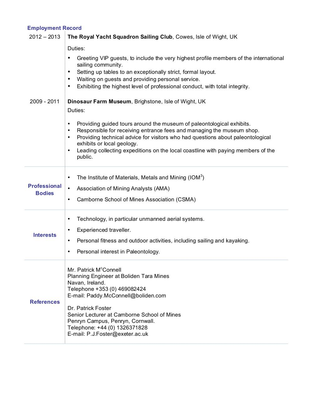 microsoft word james dolby cv civil engineering graduate doc report spam or adult content