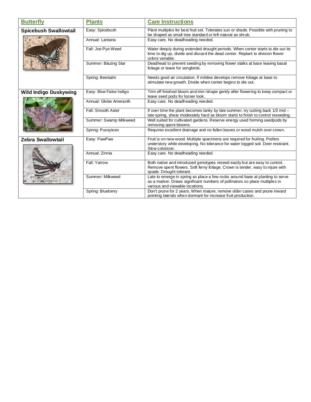 Document preview butterfly garden guide easy.pdf - page 4/4