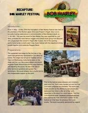 bob marley festival recap optimize