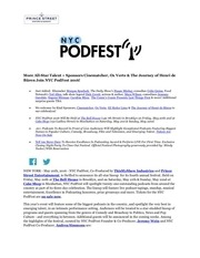 nyc podfest final press release 5 20 16