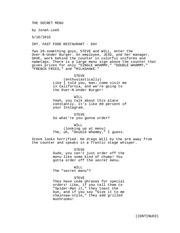 the secret menu v1