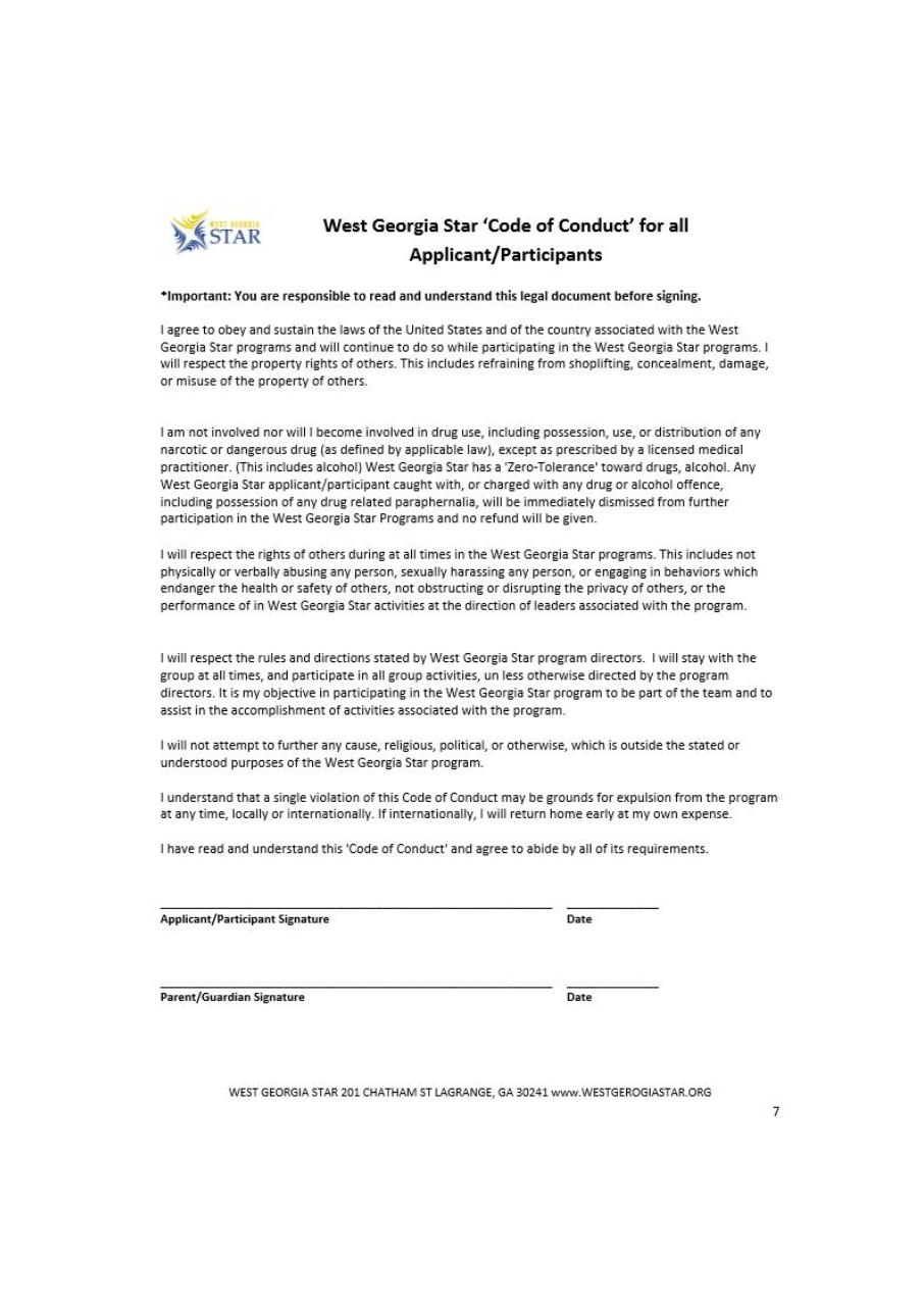 Document preview west-ga-star-code-of-conduct.pdf - page 1/1