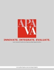 PDF Document apava 2016 conference sponsorship