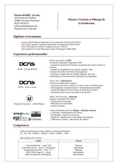 PDF Document cv detaille florian barbe