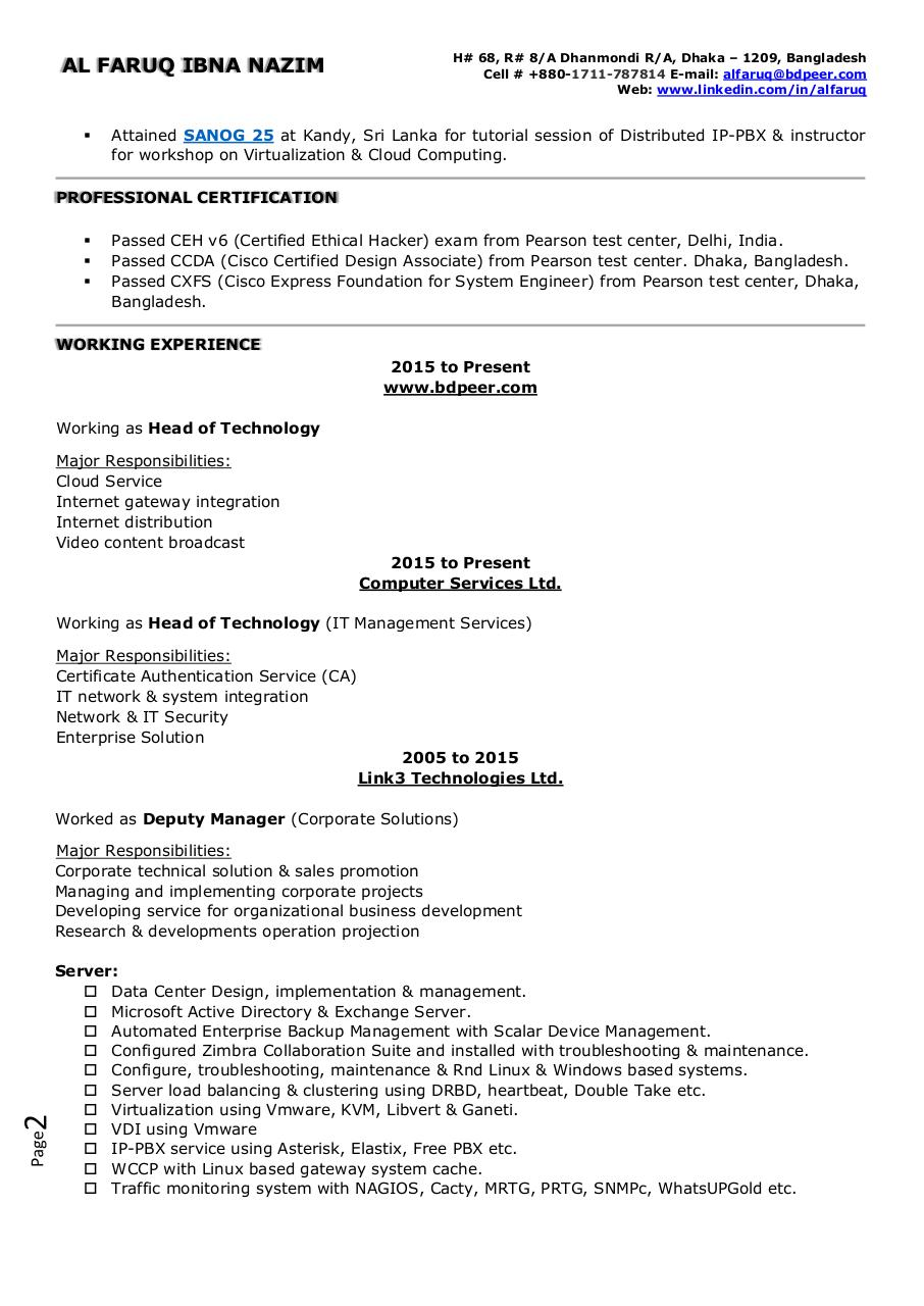 Document preview CV.pdf - page 2/3
