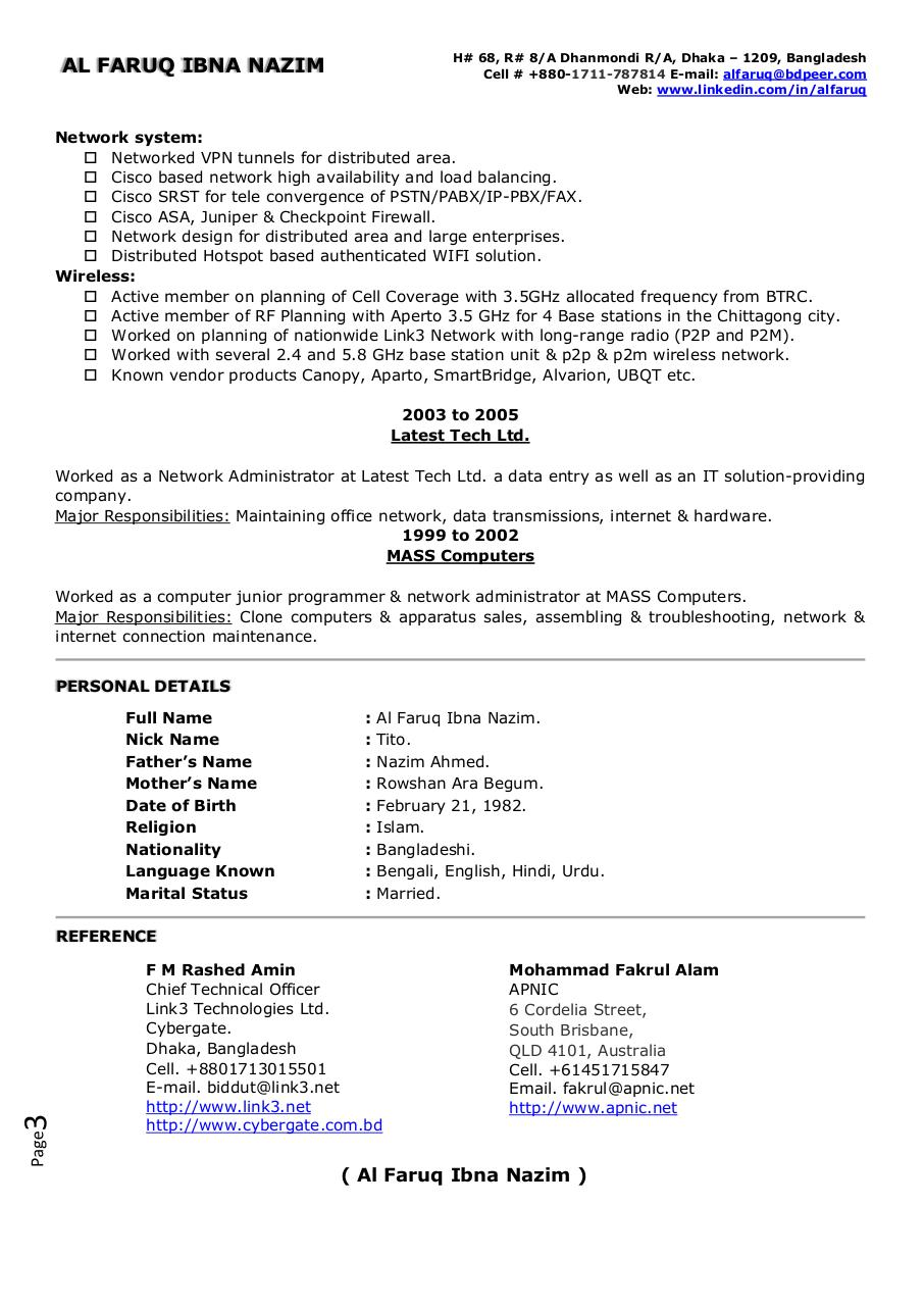 Document preview CV.pdf - page 3/3