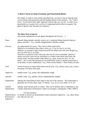 PDF Document a short course on some grammar basics