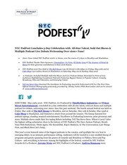 nyc podfest wrap up press release 5 23 16