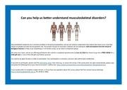 biological sciences info poster
