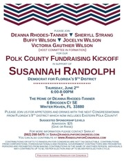 susannah randolph for congress fundraiser june 2nd