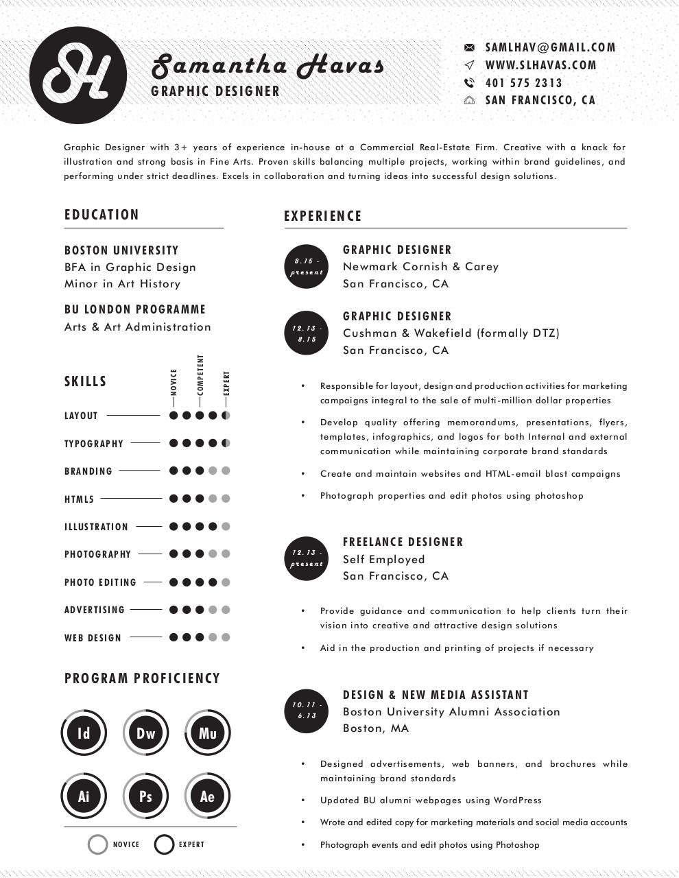 Document preview Samantha Havas_Resume.pdf - page 1/1