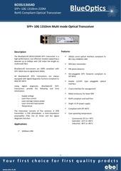 blueoptics bo35j136s4d 10gbase lrm sfp transceiver 1310nm