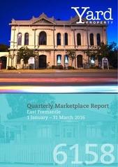 east fremantle quarterly report jan mar 2016