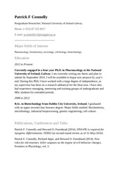 PDF Document patrick connolly cv