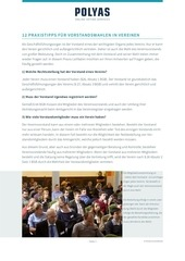 12 praxistipps vorstandswahlen vereine 08 2015