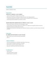 PDF Document 2016 resume pdf