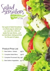 2 salads veg product brochure