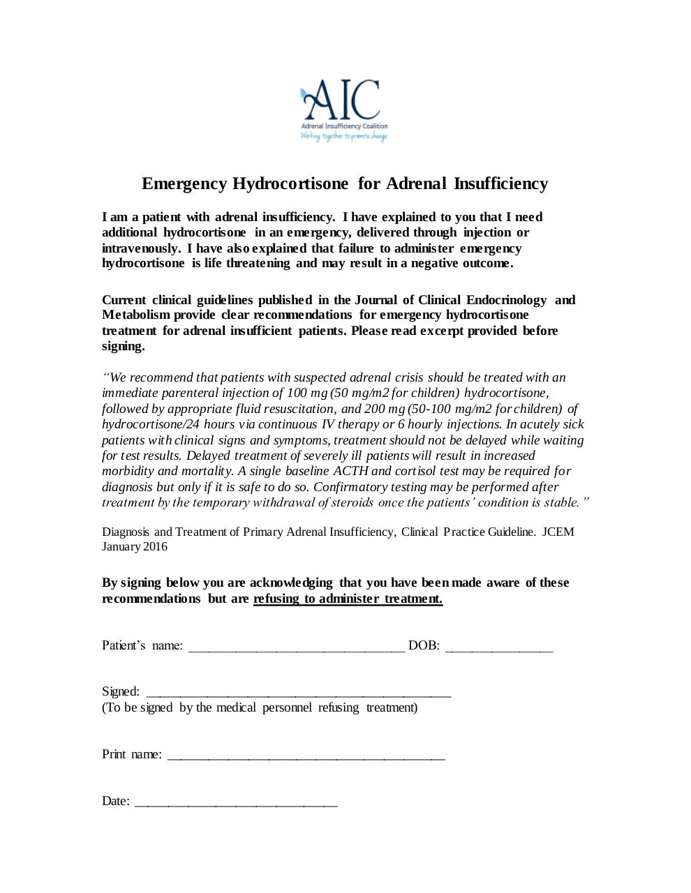 Document preview Emergency Hydrocortisone in Adrenal Insufficiency.pdf - page 1/1