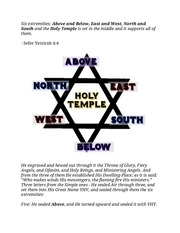 PDF Document the six directions of the six pointed star of david