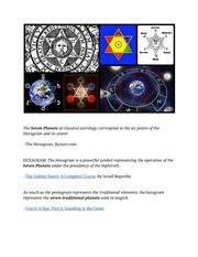 PDF Document the star of david s seven spheres of astrology