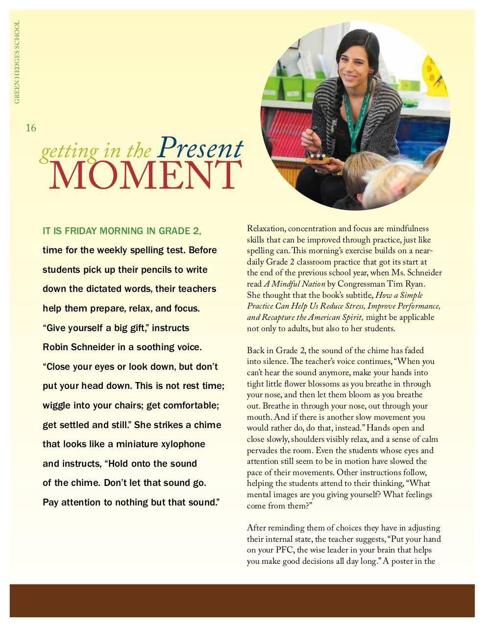 Document preview Getting in the Present Moment - Clippings 2015.pdf - page 1/2