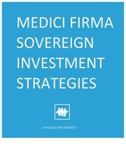 medici firma sovereign wealth fund investment strategies