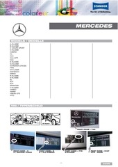 mercedes benz color information