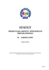 statut msm jaros aw