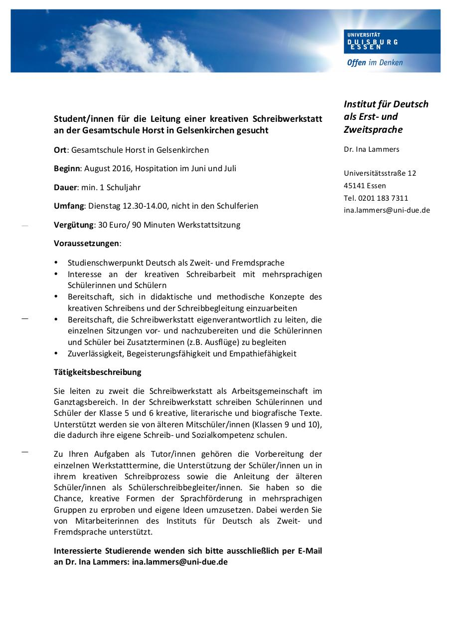 Document preview Ausschreibung Tutoren GE.pdf - page 1/1