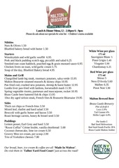 PDF Document current brasserie menu