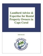 landlord advice