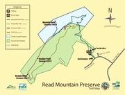 read mountain preserve trails