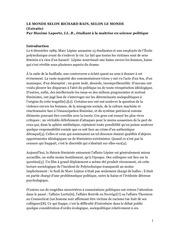 PDF Document recherche le monde selon richard bain 2